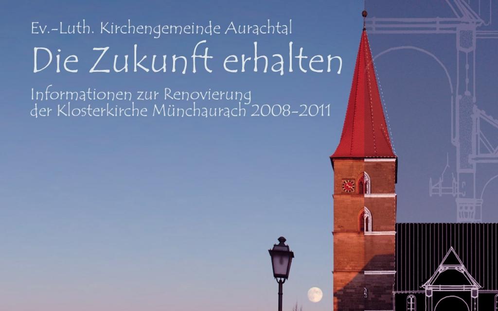 """Das Motto der Renovierung: """"Die Zukunft erhalten""""."""